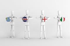 cup d grupuje świat Obraz Royalty Free