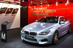 Cupê 2017 de BMW M6 Gran Imagens de Stock Royalty Free