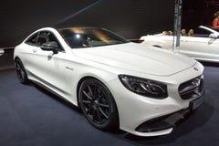 Cupé 2014 de la S-clase de Mercedes-Benz Fotografía de archivo