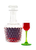 Cup and decanter Stock Image