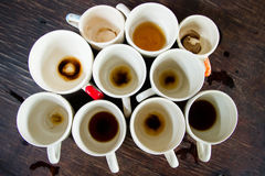 Cup of delicious coffee for an afternoon refreshment. Stock Photo
