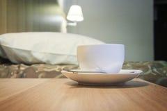 Cup of delicious espresso coffe Royalty Free Stock Image