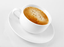 A cup of delicious espresso coffee Stock Photos