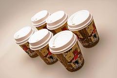Cup des Getränks Stockbild
