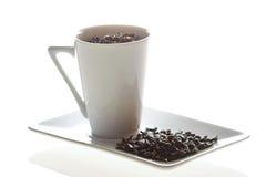 Cup des grünen Tees Stockfoto