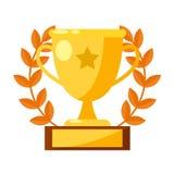 Cup des Sportsiegers Stockfotografie