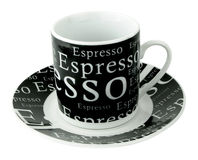 Cup for drink of coffees. Royalty Free Stock Image