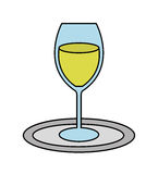 Cup drink party  icon Stock Images