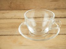 Cup of empty tea Royalty Free Stock Photography