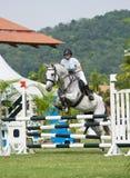 Cup Equestrian Show Jumping première Photographie stock libre de droits