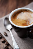 Cup of Espresso (close-up) Stock Photography