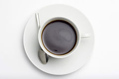 Cup of Espresso coffe Royalty Free Stock Images