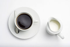 Cup of Espresso coffe Stock Image