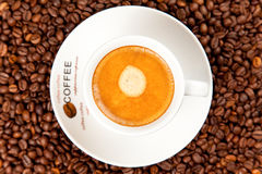 Cup of espresso coffee Stock Photography