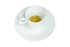 The cup of espresso Stock Photography