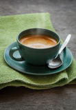 Cup of espresso Stock Image