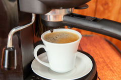 The cup of espresso Royalty Free Stock Photography