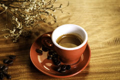 A cup of espresso Royalty Free Stock Images