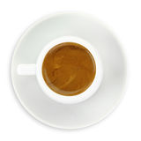 Cup of espresso coffee Royalty Free Stock Photography