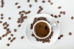 Cup Espresso-Kaffee Stockbild