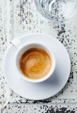 Cup of Espresso Royalty Free Stock Photos