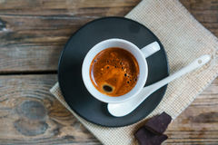Cup of espresso Stock Photography