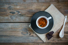 A cup of espresso Stock Photo