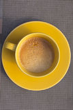 A cup of coffee. A cup of expresso coffee Stock Image