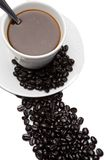 Cup of expresso coffee Stock Images