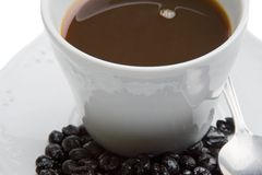 Cup of expresso coffee Stock Photography