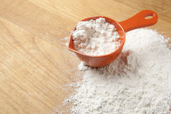 Cup of Flour for Baking Royalty Free Stock Photo