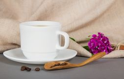 Cup of fragrant coffee Royalty Free Stock Photos