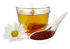 A cup of fragrant green tea Royalty Free Stock Image