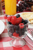 Cup of fresh berries Royalty Free Stock Photo