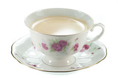 A cup of fresh coffee. Royalty Free Stock Photography