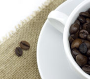 Cup of the fresh coffee Stock Photography
