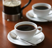 Cup of fresh coffee Royalty Free Stock Image