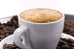 A cup of fresh espresso Stock Photography