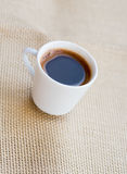Cup of fresh espresso coffee Royalty Free Stock Photos