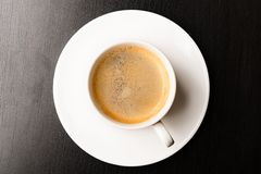 Fresh espresso Royalty Free Stock Photo