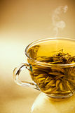 Cup of fresh green japanese tea Stock Images