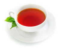 Cup of fresh hot black tea Royalty Free Stock Photo
