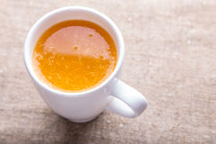 Cup of fresh orange juice Royalty Free Stock Photos