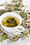 Cup of fresh tea Stock Photos