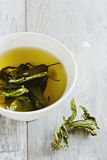 Cup of fresh tea Stock Image