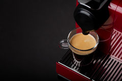 Cup of freshly brewed coffee Royalty Free Stock Photos