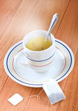 A cup of freshly brewed hot tea Stock Images