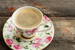 Cup of freshly brewed Turkish coffee Royalty Free Stock Photography