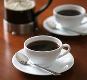 Cup frischer Kaffee Lizenzfreies Stockbild