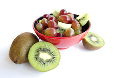 Cup of fruits Stock Image